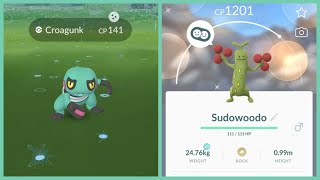 NEW APRIL FOOLS EVENT IN POKEMON GO! New Shiny Sudowoodo Nest Found!