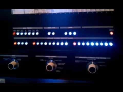 IBM System 370 Model 138 Mainframe Operator Control Panel...