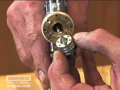 Woodworking Tips: Finishing - How to Clean a Spray Gun