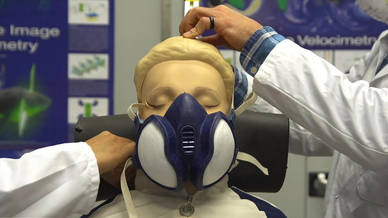 Do face masks stop the spread of coronavirus? Scientists at Edinburgh University investigate