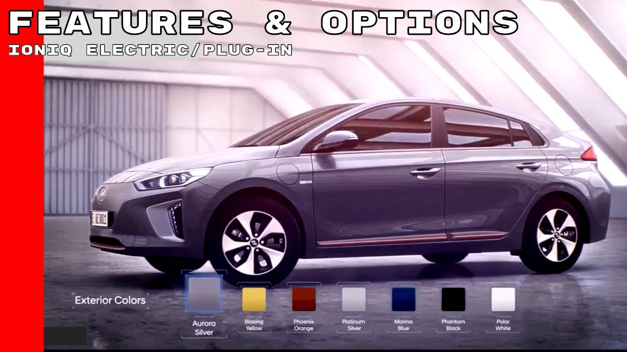 2018 hyundai plug in. unique hyundai 2018 hyundai ioniq electricplugin features u0026 options with hyundai plug in r