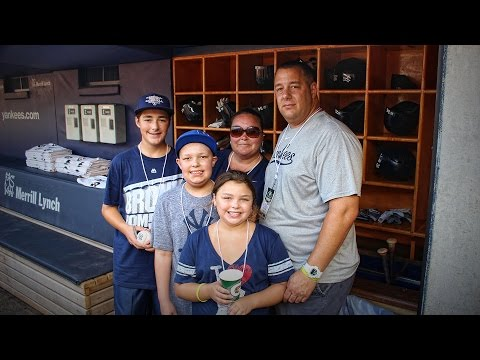 The Hook-Up: Bernie Williams & Alex Rodriguez Surprise Young Cancer Patients