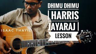 Dhimu Dhimu | LESSON | Isaac Thayil | Isaac Thayil | Engeyum Kaadhal | Harris Jayaraj | Guitar