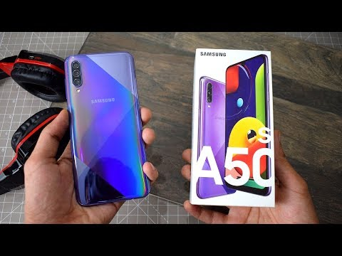 Samsung Galaxy A50s Prism Crush Violet UNBOXING FIRST LOOK