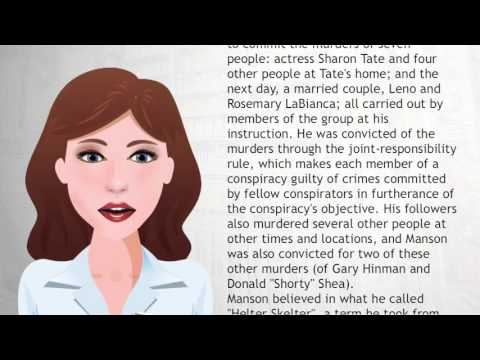 Charles Manson - Wiki Videos