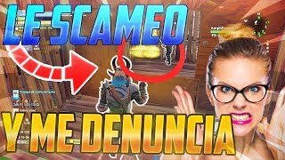 🔥 SCAMEO and YOUR MOTHER WANT ME TO REPORT!😱 . Fortnite Save the World