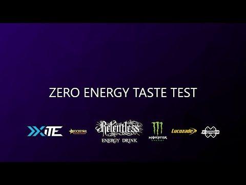 SVG Reviews - Zero Energy Taste Test