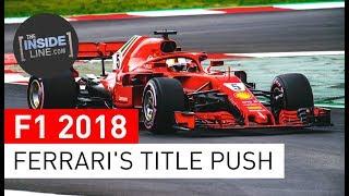 F1 NEWS 2018 - SCUDERIA FERRARI: TITLE FIGHT REMATCH [THE INSIDE LINE TV SHOW]