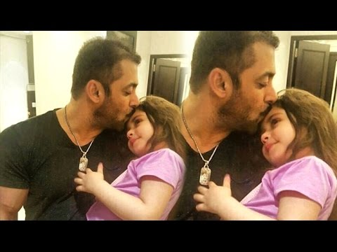 CUTE Little Fan Suzi Hugging & Kissing Salman Khan