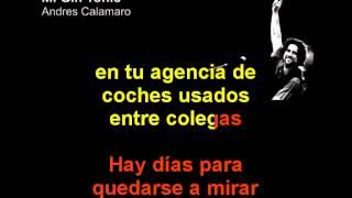 Andres Calamaro - Mi Gin Tonic - Karaoke