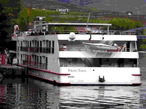 Aboard of Viking Torgil Ship - Douro River, Portugal