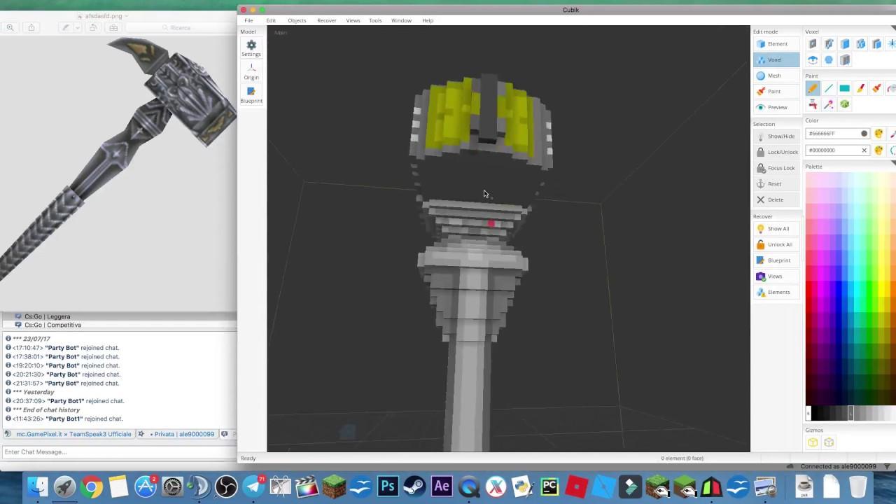 Minecraft free 3d animate modelling war hammer youtube minecraft free 3d animate modelling war hammer malvernweather Gallery