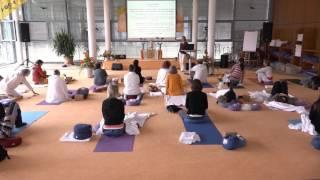 Yin Yoga bei Vatastörungen mit Shanti Wade - Ayurveda Kongress 2016