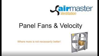 Ventilation : Panel Fans & Velocity - Short