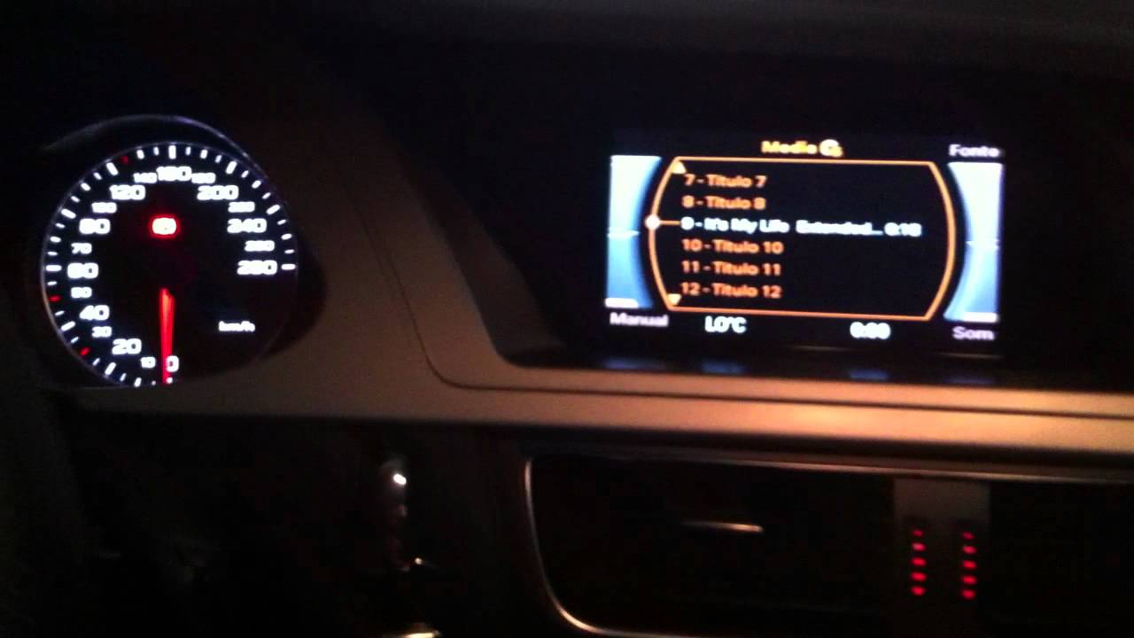 upgrade sound Audi A4 B8 2011 Bang & olufsen & Upgrade Xenon Hid 70w - YouTube