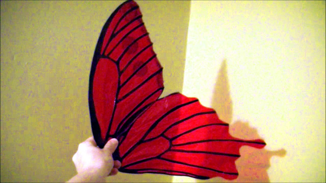 Make $10 cellophane fairy wings: No wire, safe for kids ...