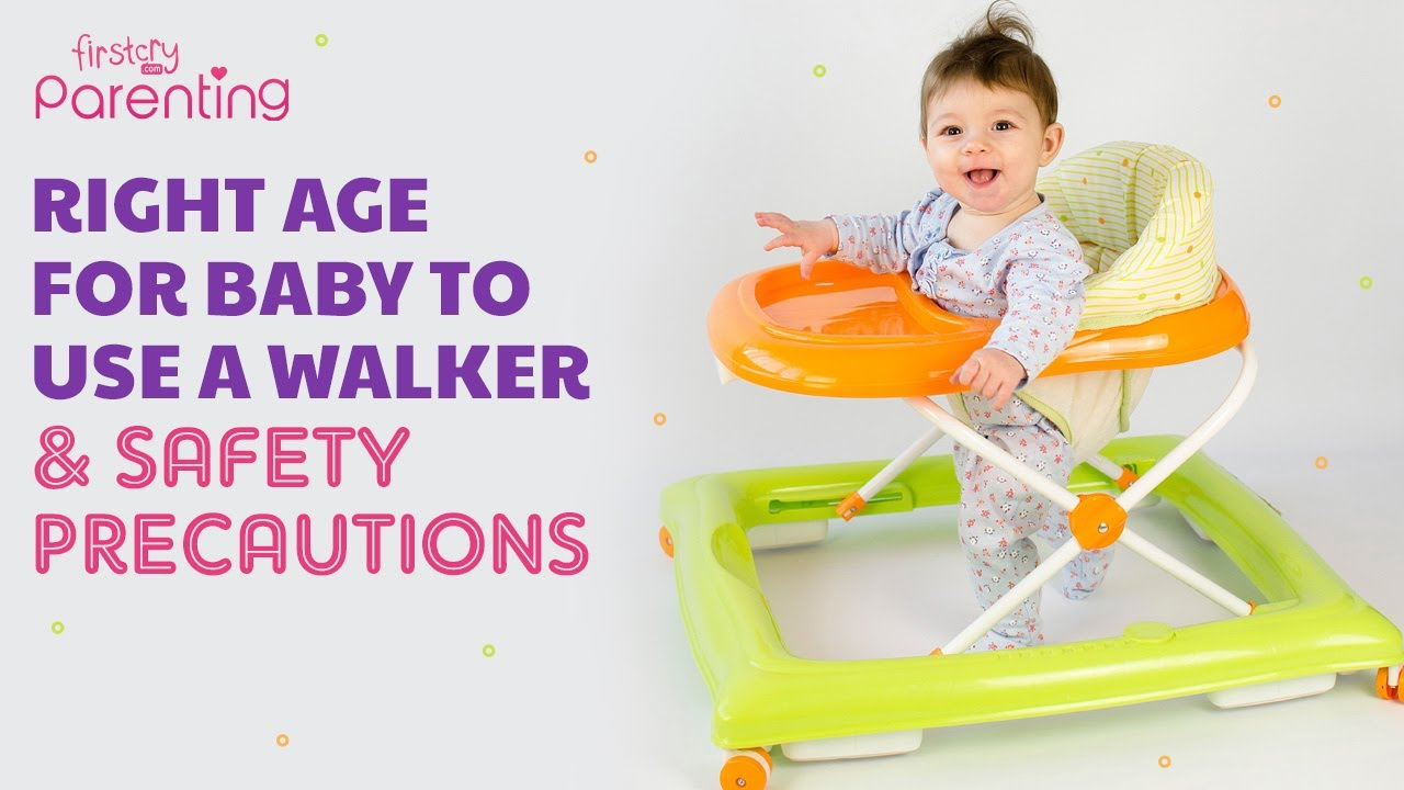 at which month baby can use walker online -