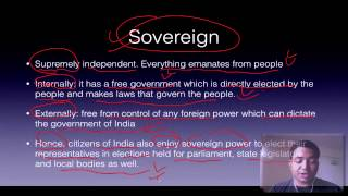 Polity Lecture for IAS : 1.2 Preamble IAS Preparation