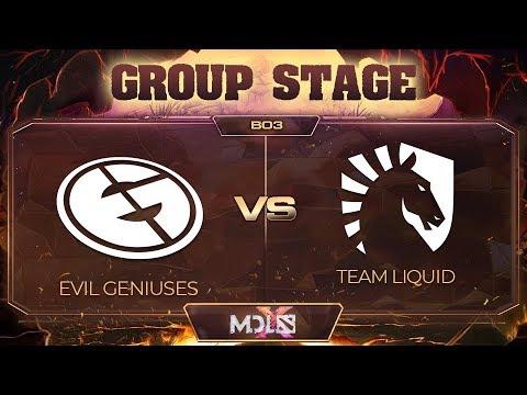 EG vs Team Liquid vod