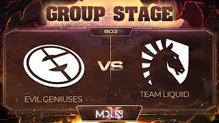 Evil Geniuses vs Liquid Game 2 - MDL Chengdu Major: Group Stage