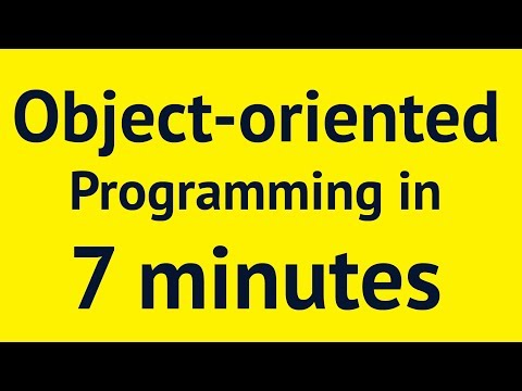 Object-oriented Programming in 7 minutes | Mosh
