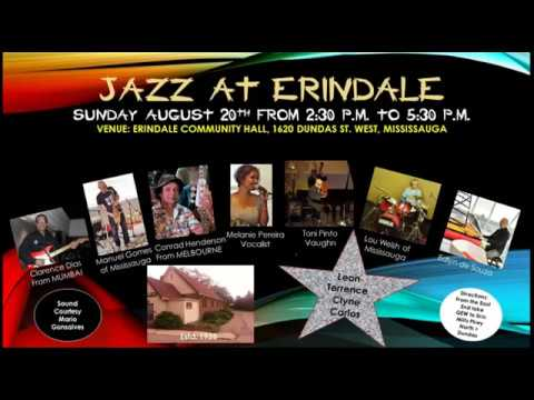 Jazz at Erindale, Mississauga, 2017