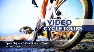 Cycling from Can Picafort to Sineu - Majorca Spain - Radfahren auf Mallorca