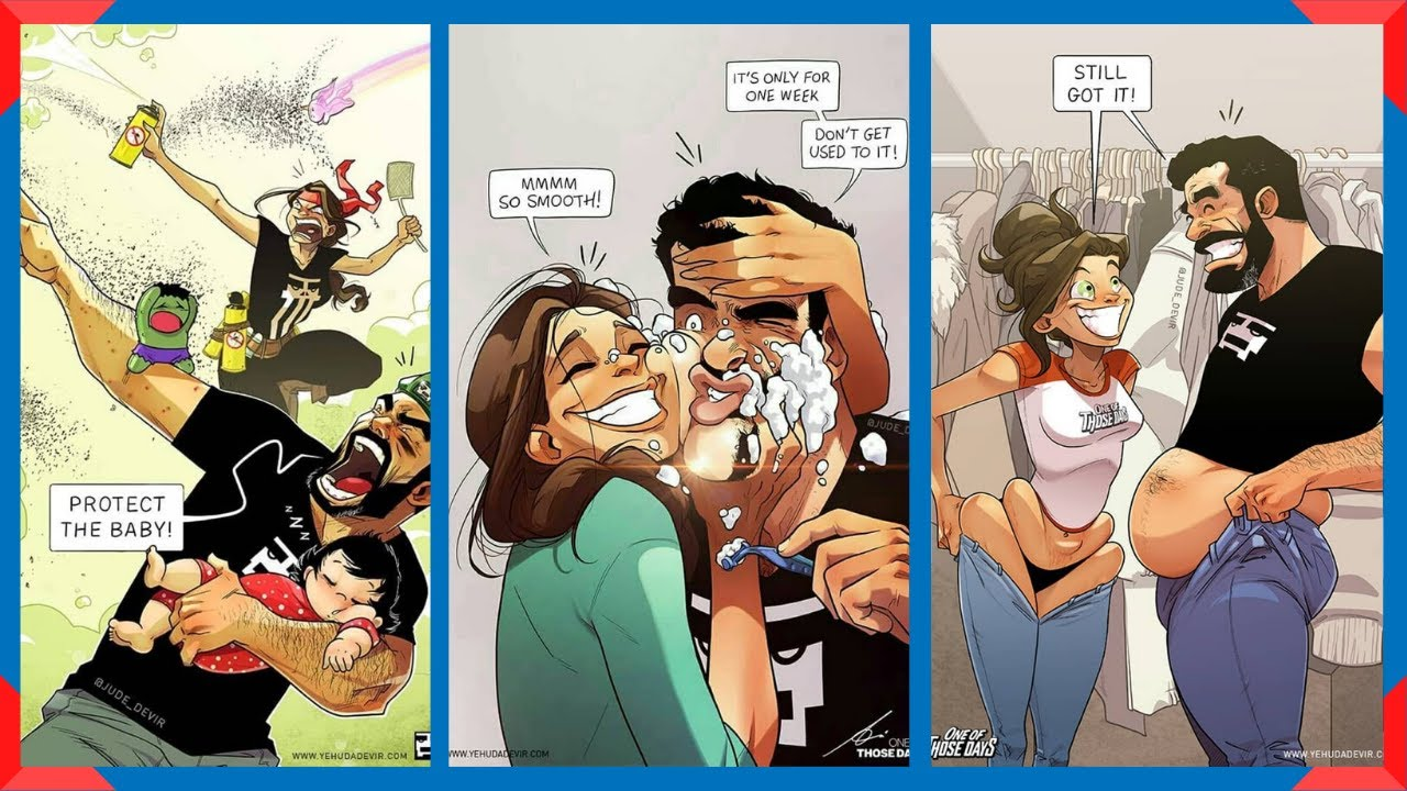Artist Illustrates Everyday Life With His Wife: Part 2