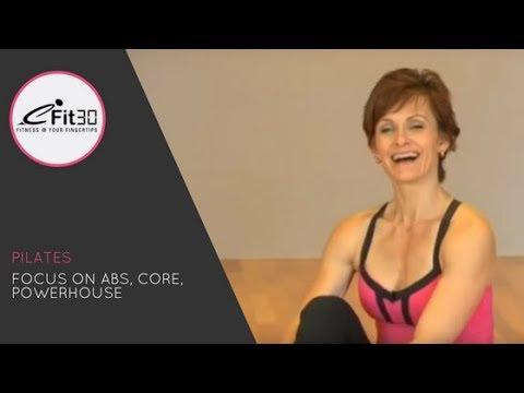 Pilates, Focus On Abs, Core, Powerhouse, 30 Mins