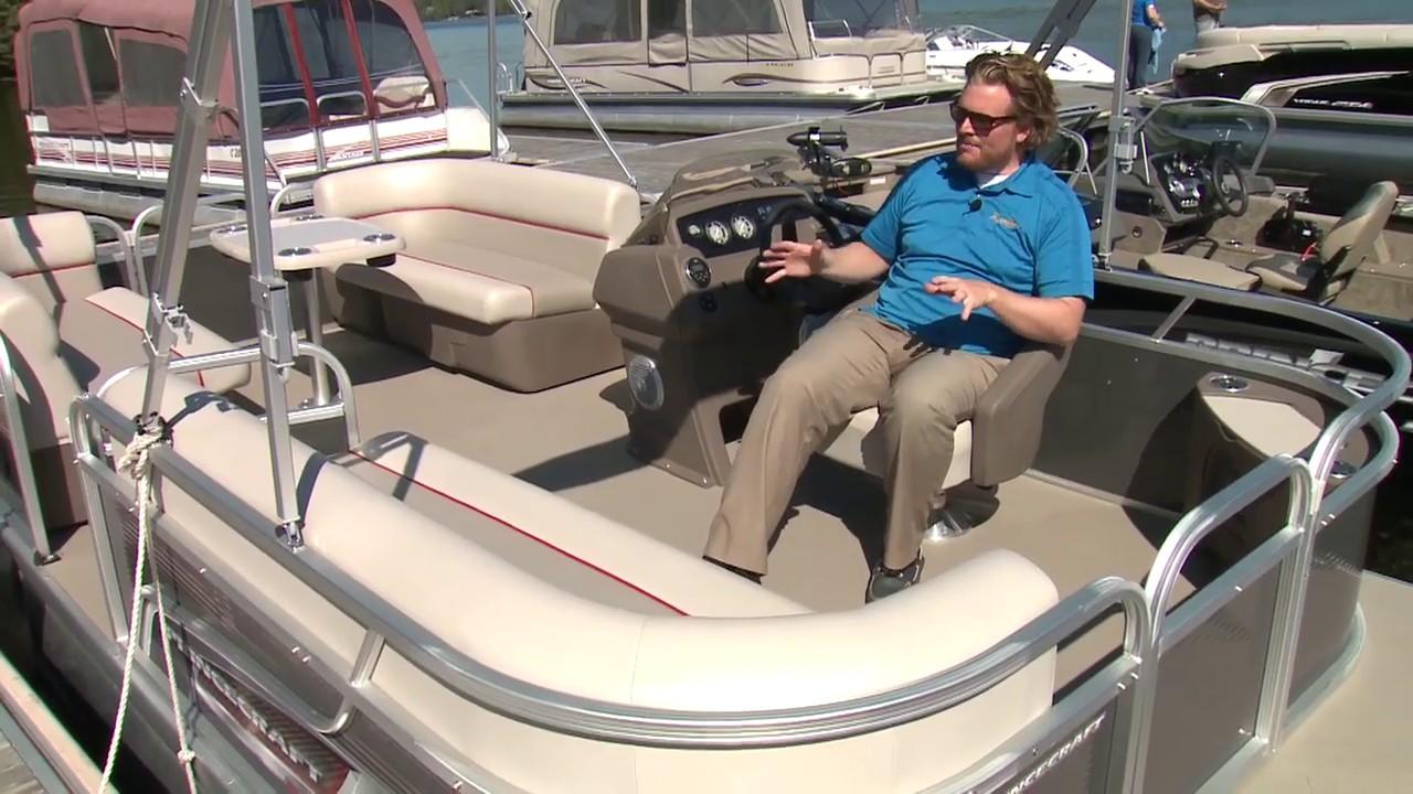 2016 Princecraft Jazz 180 Pontoon: Boat Review - YouTube