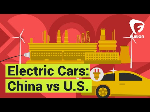 China is lapping the U.S. on electric cars