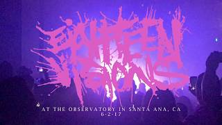 Eighteen Visions @ The Observatory in Santa Ana, CA 6-2-17 [FULL SET]