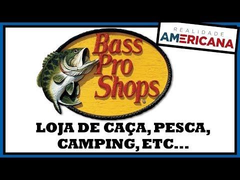 Loja GIGANTE de Caça e Pesca nos Estados Unidos - BASS PRO SHOPS