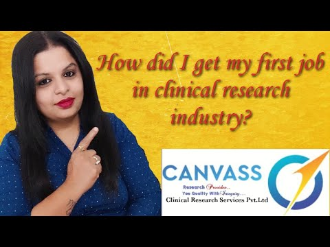How Did I Get my First Job In Clinical Research Industry?