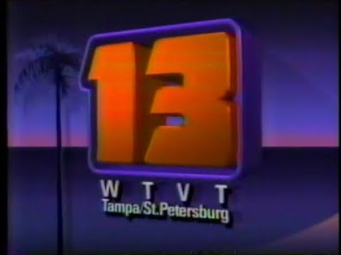 WTVT 13 Tampa - News Promos - 1984-1985 - YouTube