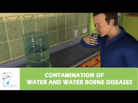 CONTAMINATION OF WATER AND WATER BORNE DISEASES
