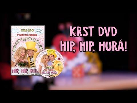 Smejko a Tanculienka - Krst DVD Hip, hip, hurá!