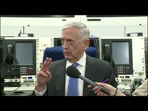 Defense Secretary Mattis debriefs: Syria Turkey Afrin Kurds Russia ISIS Iraq