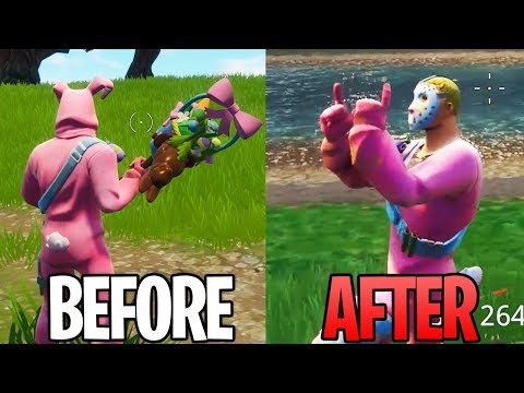 NEW Fortnite Rabbit Skin GLITCH..