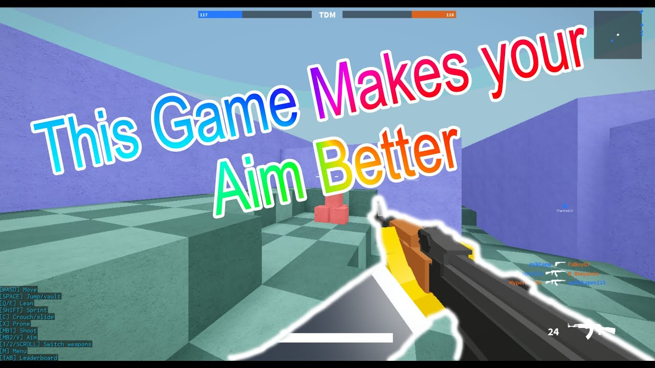 This Game Makes Your Aim Better |Roblox |Bad Business ...