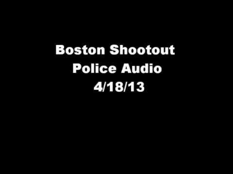 Boston Marathon Bombing Suspect Chase Police Audio Watertown MA 4/18/13