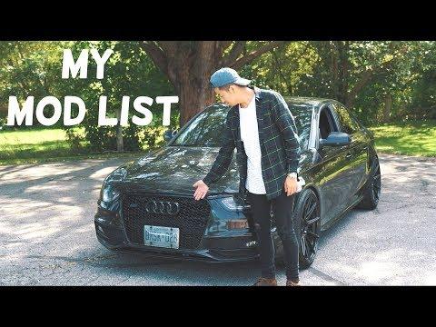 My Audi S4 | Every Single Modification