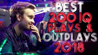 BEST 200 IQ Plays & Outplays of 2018 - Dota 2
