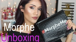Morphe Brushes Unboxing I May 2017