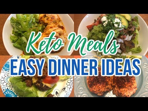 Keto Meals | Easy Dinner Ideas | Journey To Healthy