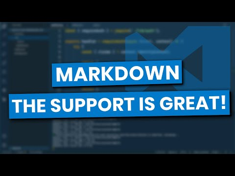 Introduction To Markdown Using Visual Studio Code