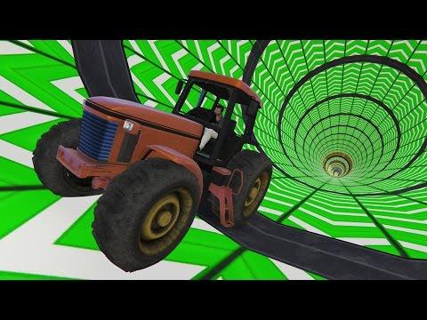 Летающие тракторы (GTA 5 Online Гонки)