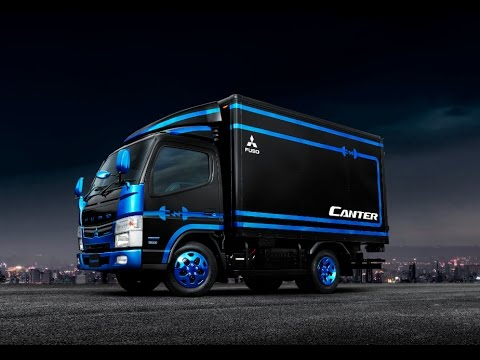 FUSO Canter Power Supply Vehicle | Tokyo Motor Show