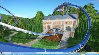 Hanging Gardens (Planet Coaster Alpha) On ride Pov starts at 1:39