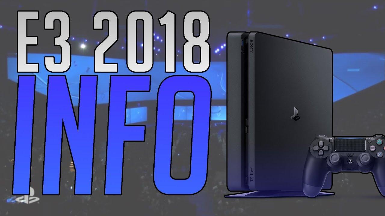 Playstation E3 Info